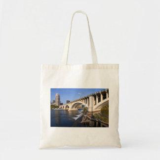Third Avenue Bridge in Minneapolis Tote Bag