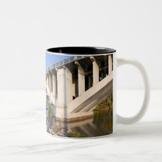 Third Avenue Bridge in Minneapolis Two-Tone Coffee Mug