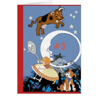 Third Birthday Nursery Rhyme Card
