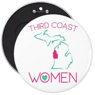 Third Coast Women Washington D.C. January 2017 6 Inch Round Button