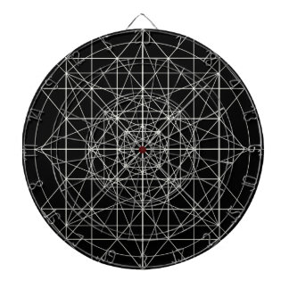 Third Dimensional/Crystal Temple Sacred Geometry Dart Boards