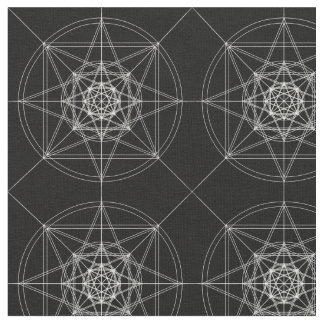 Third Dimensional Sacred Geometry (Doubled) Fabric