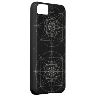 Third Dimensional Sacred Geometry iPhone 5C Cases
