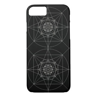 Third Dimensional Sacred Geometry iPhone 7 Case