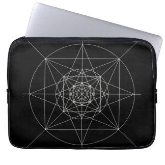 Third Dimensional Sacred Geometry Laptop Computer Sleeve