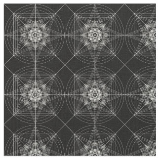 Third Dimensional Sacred Geometry (tripled) Fabric
