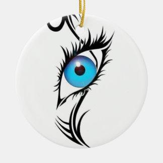 Third Eye Ceramic Ornament