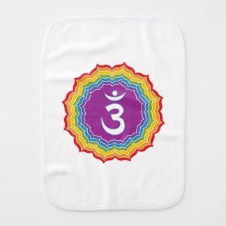 Third Eye chakra Baby Burp Cloth