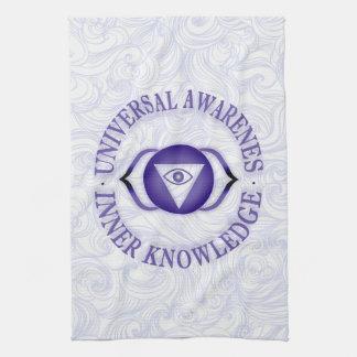 Third Eye chakra Kitchen Towels