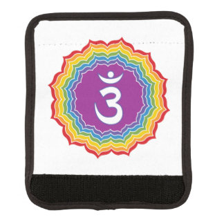 Third Eye chakra Luggage Handle Wrap