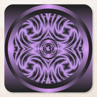 Third Eye Chakra Mandala Coaster