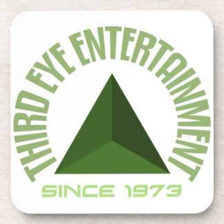 Third eye entertainment since 1973 coaster