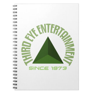 Third eye entertainment since 1973 spiral note books
