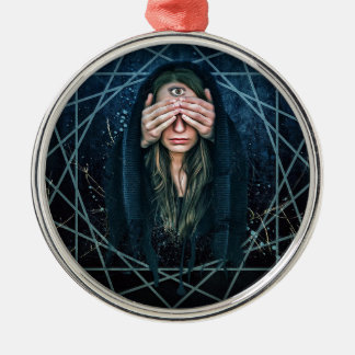 Third Eye Eye Spiritual Intuition Symbol Metal Ornament
