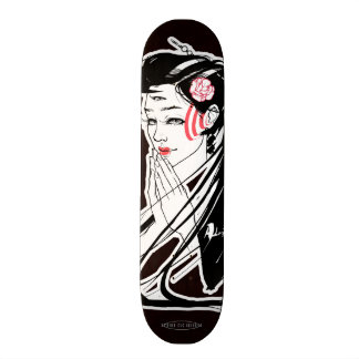 Third Eye Geisha Custom Skateboard