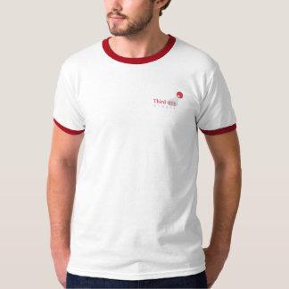 Third Eye Global 2-Sided Logo Ringer (White) T-Shirt
