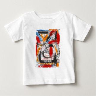 Third Eye-Hand Painted Abstract Art Baby T-Shirt
