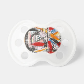 Third Eye-Hand Painted Abstract Art Pacifier