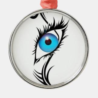 Third Eye Metal Ornament