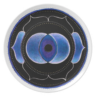 Third Eye Party Plate