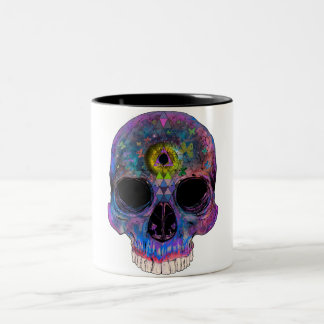 Third Eye Psychedelic Skull Mug