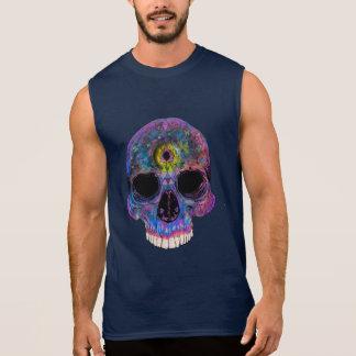 Third Eye Psychedelic Skull - Sleeveless Shirt