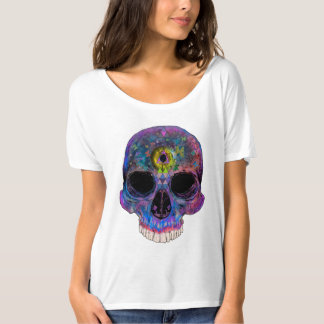 Third Eye Psychedelic Skull - T-Shirt