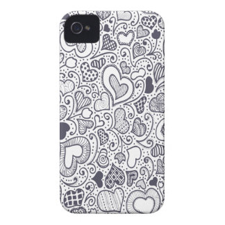 Third  February - Doodle Day - Appreciation Day iPhone 4 Cover