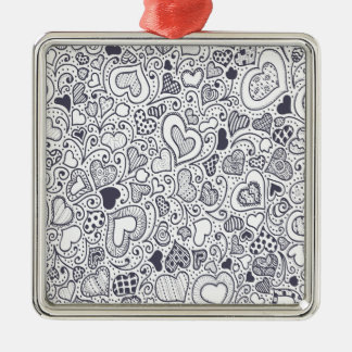Third  February - Doodle Day - Appreciation Day Metal Ornament