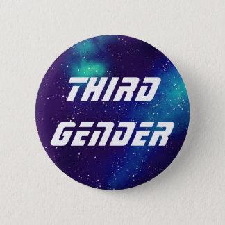 Third Gender Customizable Galaxy Identity 2 Inch Round Button