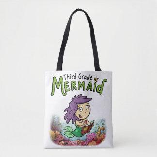Third Grade Mermaid Tote Bag
