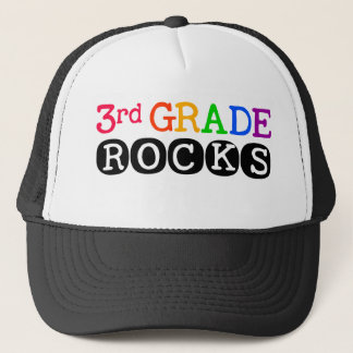 Third Grade Rocks Teacher Hat