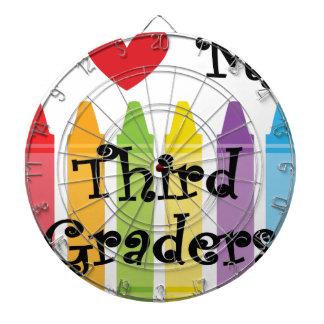Third grade teacher dartboard