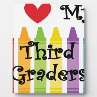 Third grade teacher plaque