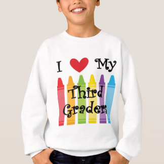 Third grade teacher sweatshirt