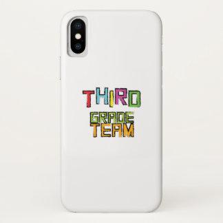 Third Grade Team , 3rd Third Grade Teachers iPhone X Case