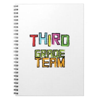 Third Grade Team , 3rd Third Grade Teachers Notebook