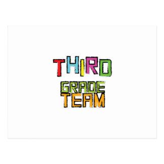 Third Grade Team , 3rd Third Grade Teachers Postcard