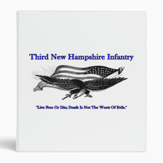 Third New Hampshire Infantry Binder