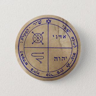 Third Pentacle of Jupiter 2 Inch Round Button