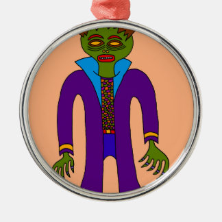 Third Prince Of The Undead Metal Ornament