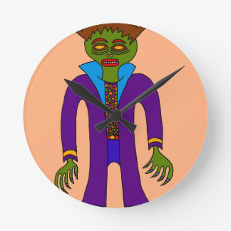 Third Prince Of The Undead Round Clock