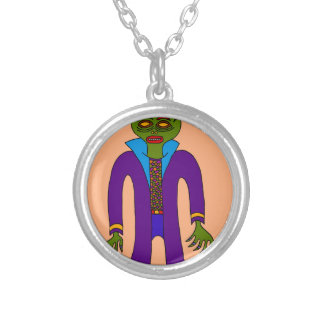 Third Prince Of The Undead Silver Plated Necklace