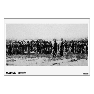 Third Regiment Infantry Civil War Colored Troops Wall Decal