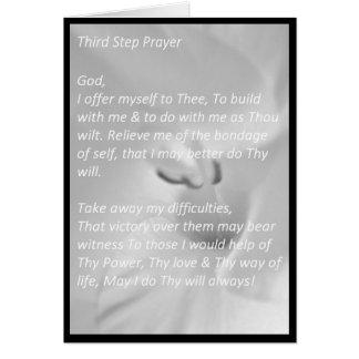 Third Step Prayer Card