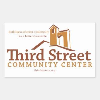 Third Street Community Center Vision Sticker