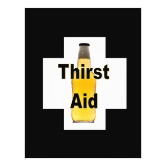 Thirst Aid Flyer Design