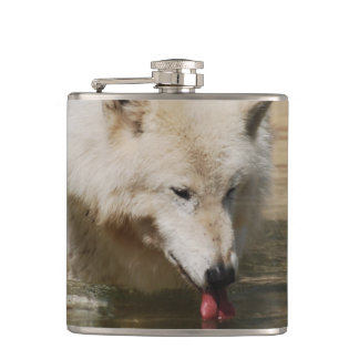 Thirsty Wolf Flasks