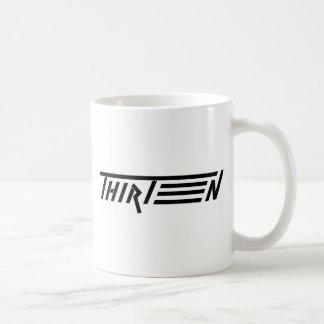 thirt13n word coffee mug