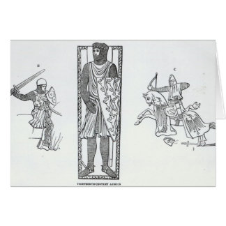 Thirteenth-century armour card